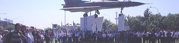 Conmemoracion del Centenario del Primer Aerodromo del pais en Villa Lugano