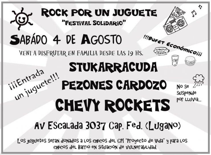 Rock por un Juguete