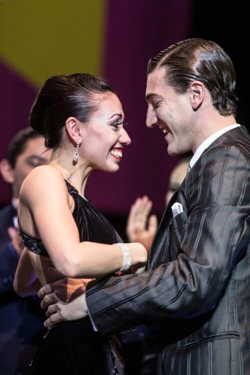 Guido Palacios y Florencia Zárate Castilla, campeones en Tango Escenario