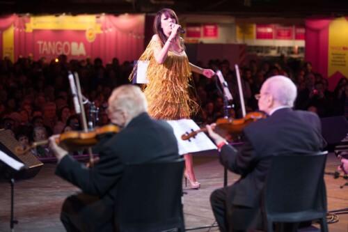 Actuación de Adriana Varela junto al Sexteto Mayor, Mundial de Tango 2013