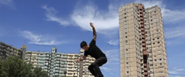 Competencia de Skate Profesional en Villa Lugano
