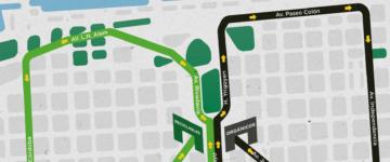 Circuito de la Carrera Ciudad Verde 2015
