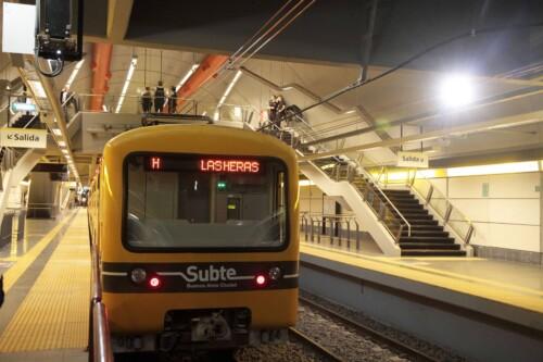 Nuevas Estaciones Córdoba y Las Heras en la Línea H del Subte