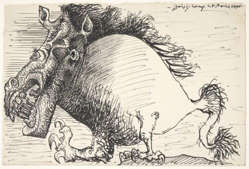 Quimera, 24 abril de 1935 (Boisgeloup) - Musée National Picasso - Paris.