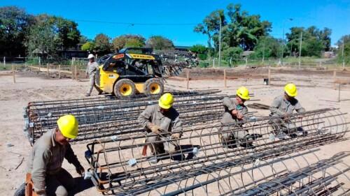 Nueva Escuela Granja, trabajos preliminares