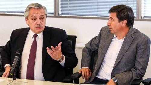 Alberto Fernandez y Daniel Arroyo