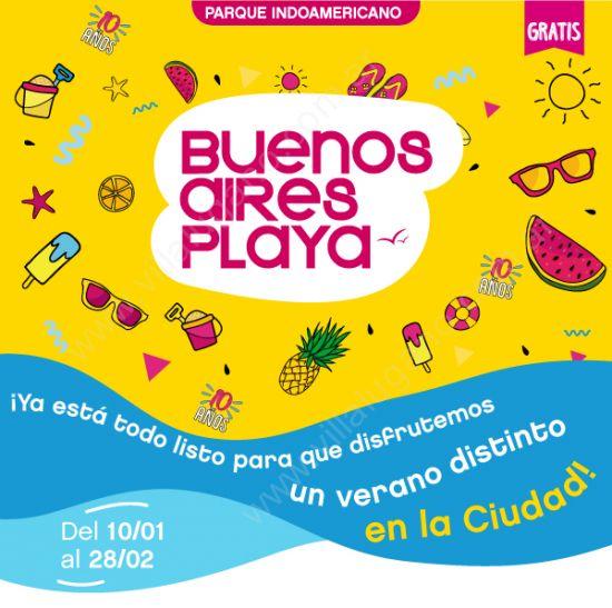 Larreta presentó Buenos Aires Playa