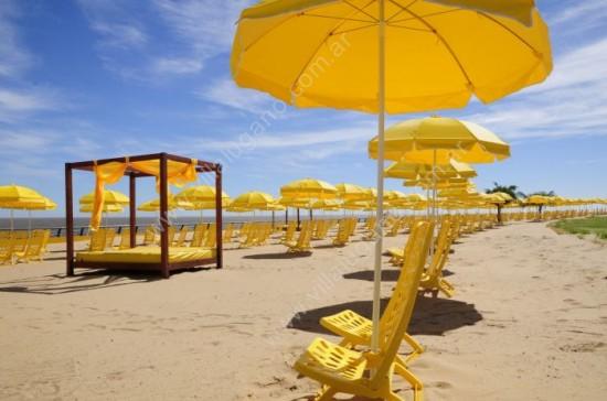 Playa de arena en el Parque de los Niños
