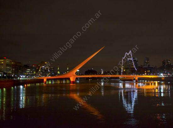 Iluminarán de color naranja siete monumentos porteños