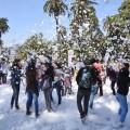 El Indoamericano, el Rosedal y la Plaza San Martín se visten de primavera