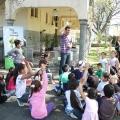 Un montón de pibes participaron del Primer Concurso de Pintura Infantil al Aire Libre