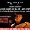 El 25 de Mayo se festeja en la Feria de Mataderos