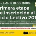 Incripción Escolar en la Ciudad para el Ciclo Lectivo 2015