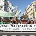 Se llevó adelante la Marcha Mundial de la Marihuana en todo el país