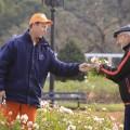 Durante la poda del Rosedal, pod�s llevarte algunas flores y gajos
