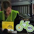 Campa�a porte�a para difundir las tarifas para bicis en estacionamientos